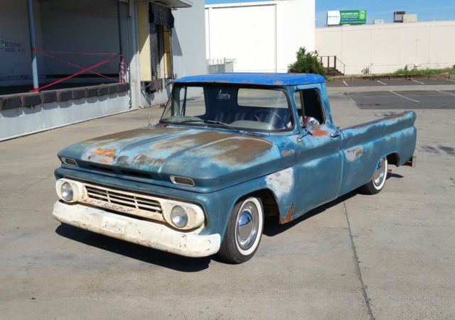 1962 Chevrolet C-10 BARN FIND CUSTOM