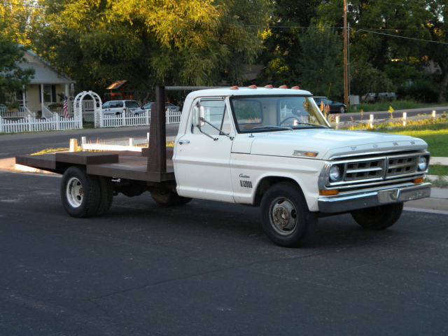 1971 Ford F-350 Flatbed Dually