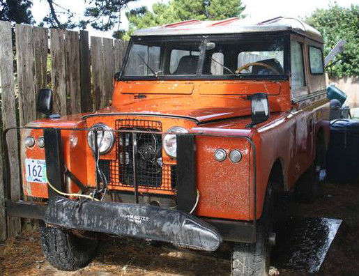 1963 Land Rover Series IIA 88