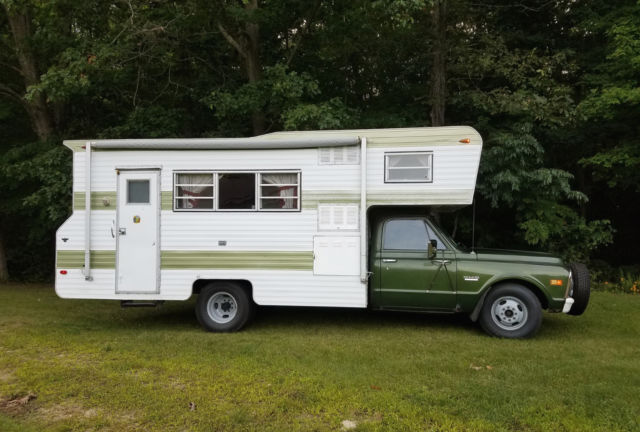 Gmc Motorhome For Sale >> Vintage Original 1972 Chevy GMC Truck Camper Motorhome for sale: photos, technical ...