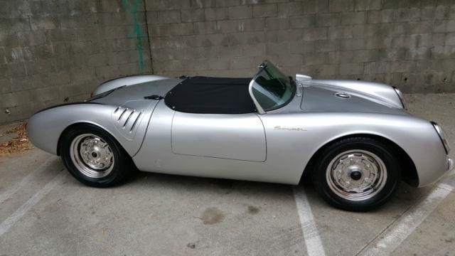 vintage spyders 1955 porsche 550 spyder replica new - Porsche Spyder 550 Replica