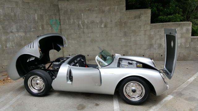 vintage spyders 1955 porsche 550 spyder replica new - Porsche Spyder Replica Kit