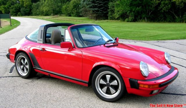 Vintage Survivor 1986 86 Porsche 911 Carrera Targa W Coa 3 2 Pca Air Cooled For Sale Photos Technical Specifications Description