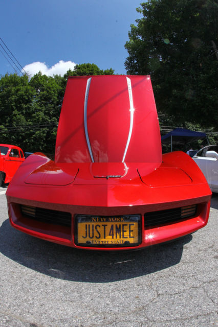 1981 CANDY RED/BURGANDY METALIC Chevrolet Corvette SPORTS