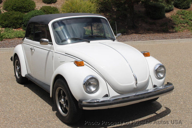 1978 Volkswagen Beetle - Classic Beetle Convertible 1.6 Litre Fuel Injection