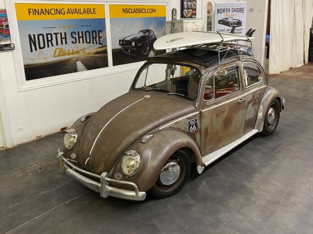 1973 Volkswagen Beetle - Classic - BEACH BUM HOT ROD - COOL PATINA - SEE VIDEO