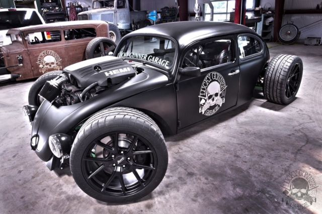 Volkswagen Bug Custom Build Hot Rod Rat Pro Touring Drift Car Beetle Chopped