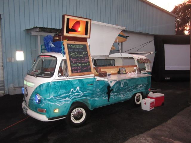 Volkswagen Bus Food Truck For Sale Photos Technical
