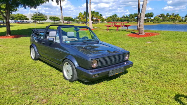 1982 Other Makes VOLKSWAGEN GOLF CABRIO 1.9 TURBO DIESEL TD