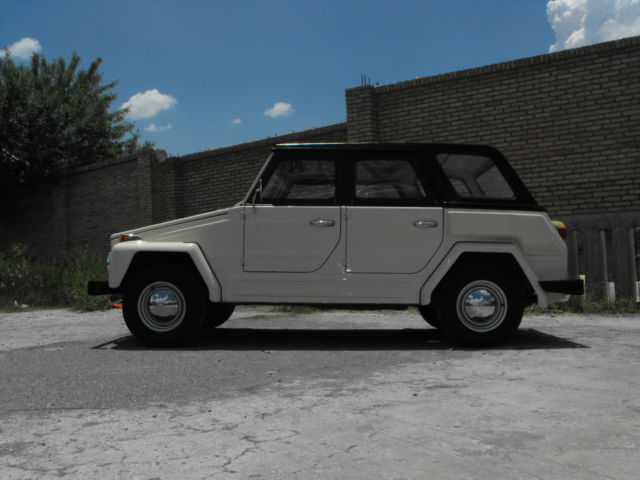 Cars For Sale Laredo Tx >> VOLKSWAGEN SAFARI MEXICAN (THING) 1975 for sale: photos, technical specifications, description
