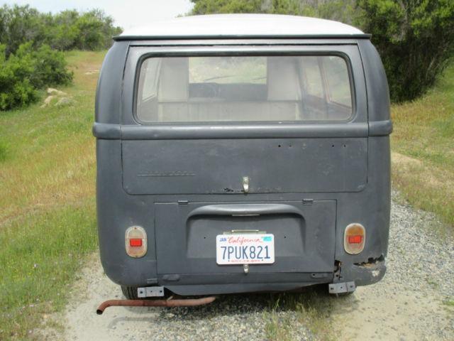 volkswagen vw 1969 kombi bay window low light bus european. Black Bedroom Furniture Sets. Home Design Ideas
