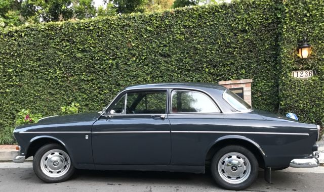 1965 Red Volvo 122 S Amazon Coupe with Grey interior