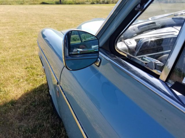 1967 Blue Volvo 122S with Black interior
