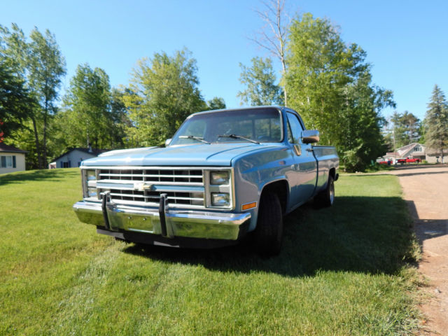 1986 Chevrolet C/K Pickup 1500 square body