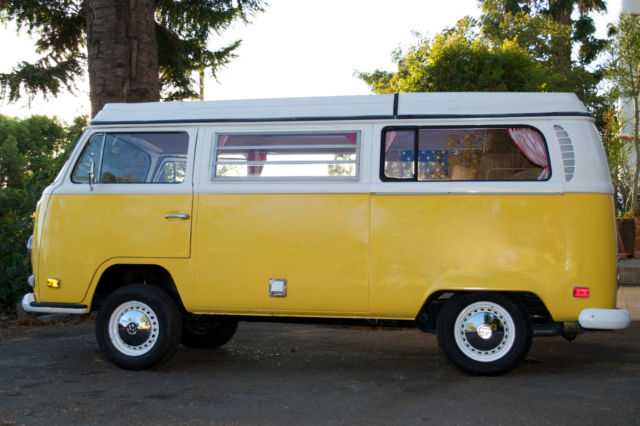Vw 1970 Bus Camper Great Retro Style For Sale Photos