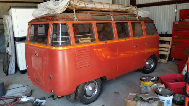 vw barndoor 23 window deluxe samba for sale photos technical specifications description. Black Bedroom Furniture Sets. Home Design Ideas