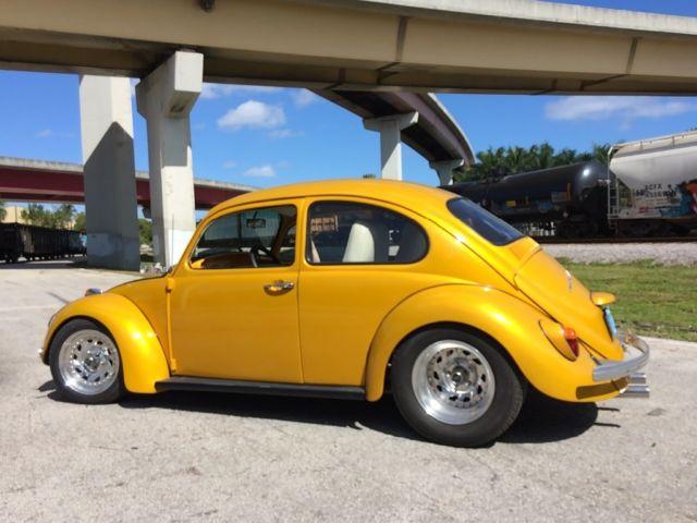 Vw Beetle Bug Hot Rod Chevy V8 Conversion