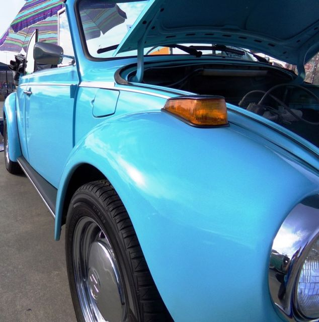 Volkswagen Beetle For Sale Atlanta Ga: VW Bug Super Beetle Convertible 85K Miles W/ Svc Records
