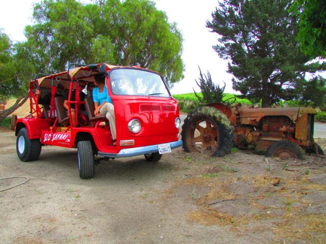 Volkswagen San Luis Obispo >> VW Bus Exotic: Part Vintage Surf Safari, Part Lifted Baja Race Buggy! for sale: photos ...