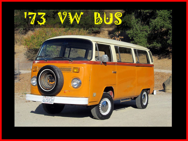 1973 Volkswagen Bus/Vanagon Transporter baywindow