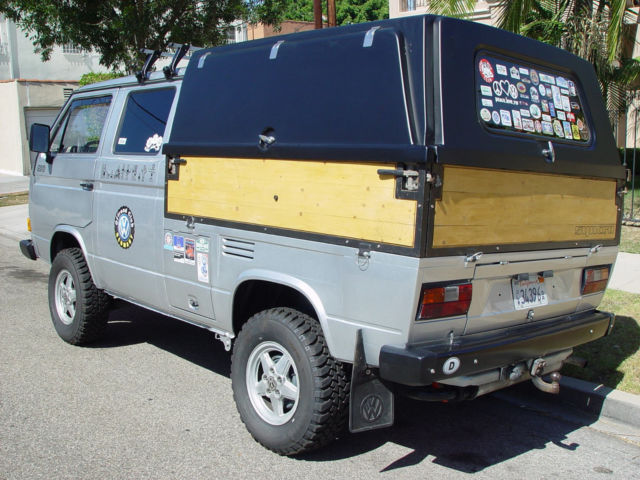 VW Syncro Doka Diesel 1 9L, 4X4, imported from Europe! for