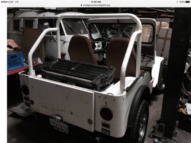 vw veep (aircooled jeep) for sale: photos, technical