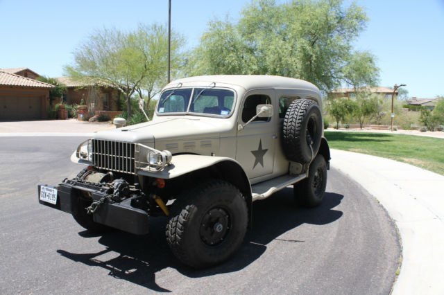 1942 Dodge Power Wagon Carry All