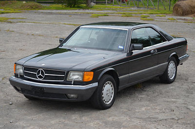 1990 Mercedes-Benz 500-Series 560 Series 2dr Coupe 560SEC