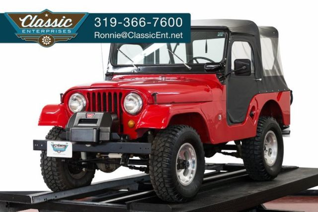 1967 Jeep Other CJ5 Restored to original 4 wheeldrive low miles