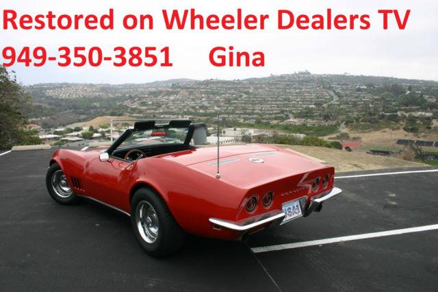 Wheeler Dealers Restored 1968 Corvette Convertible C3 As Seen On