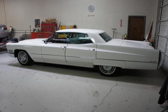 White 1967 cadillac deville amazing condition for sale for 429 cadillac motor for sale