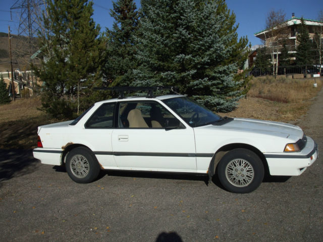 1986 Honda Prelude 2.0 Si Coupe 3-Door