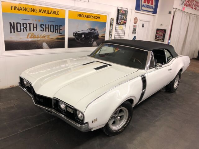 1968 Oldsmobile Cutlass -CONVERTIBLE-BIG BLOCK with 5 SPEED-12 BOLT-PS-PB-