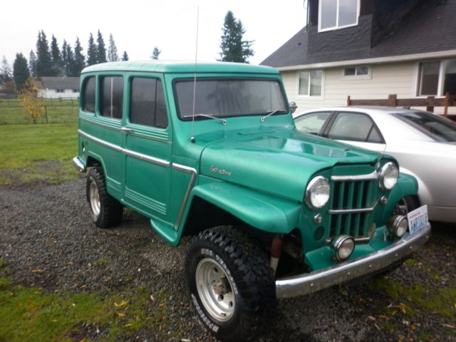 1962 Willys overland