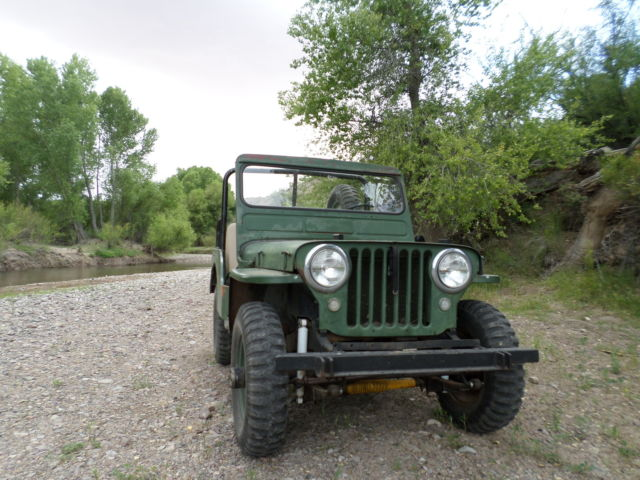 1949 Willys CJ2a