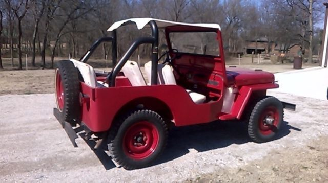 1948 Willys CJ2 A