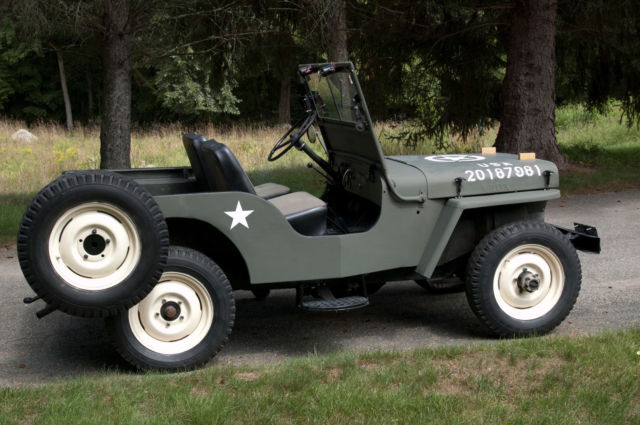 1947 Green Willys