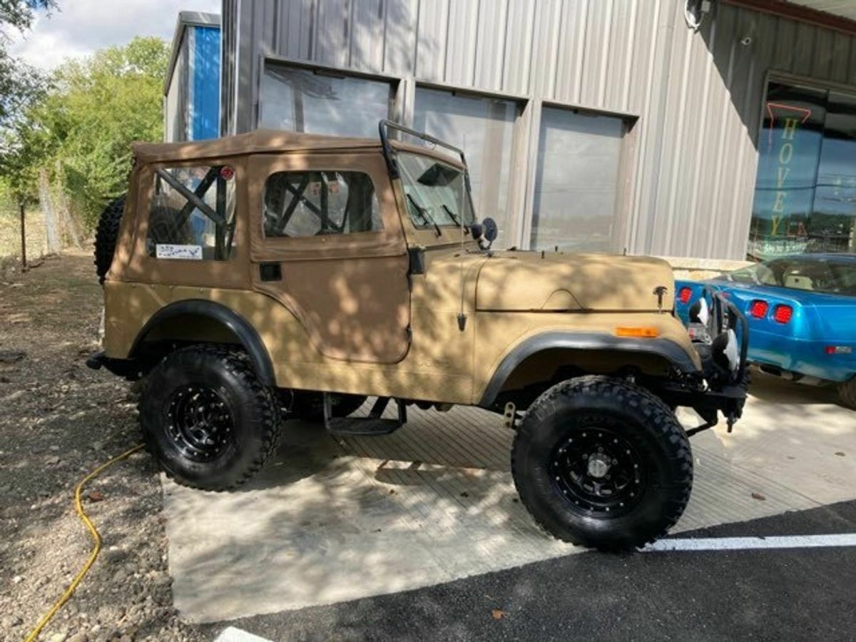 1955 Willys Jeep Cj5 V6
