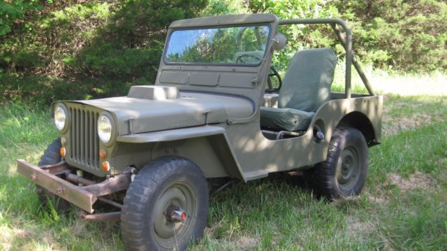 1952 Willys CJ2A