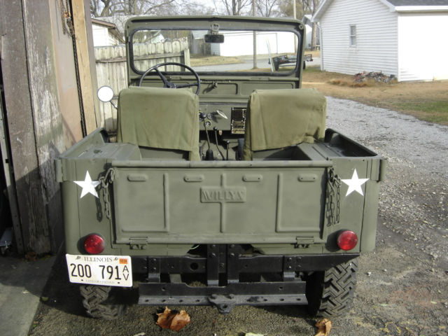 Willys Jeep Cj 1951 M38 Military Clone For Sale Photos Technical 1952 Army Wiring Schematic: M38 Jeep Wiring Diagram At Anocheocurrio.co