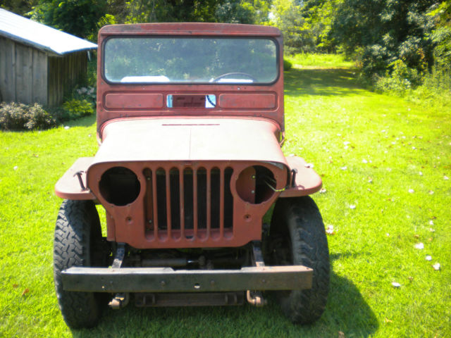 1948 Willys 1948 CJ2 to start
