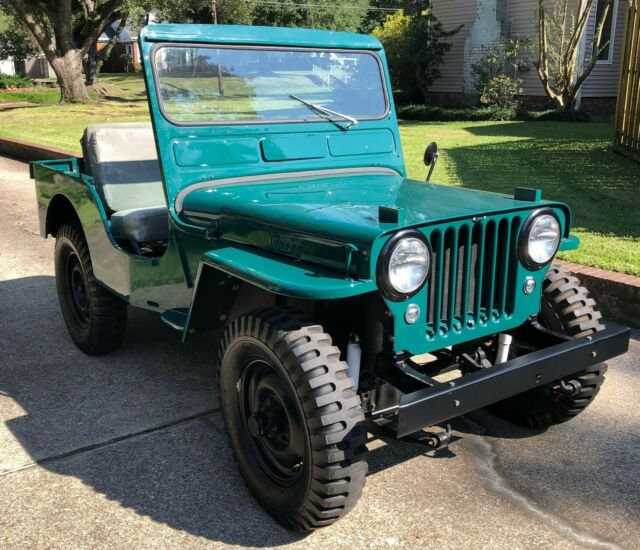 Willys Jeep  CJ3a  1952