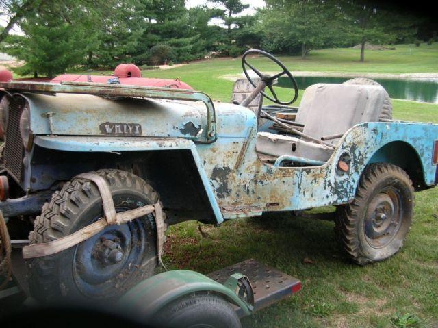 Willys Jeep For Sale >> Willys Jeep For Sale 1950 Cj3a Willy S Farm Jeep For Sale