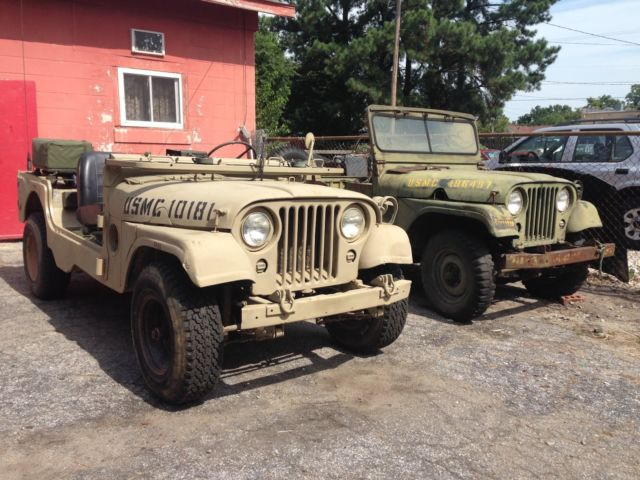 Willys Jeep M38a1 For Sale Photos Technical