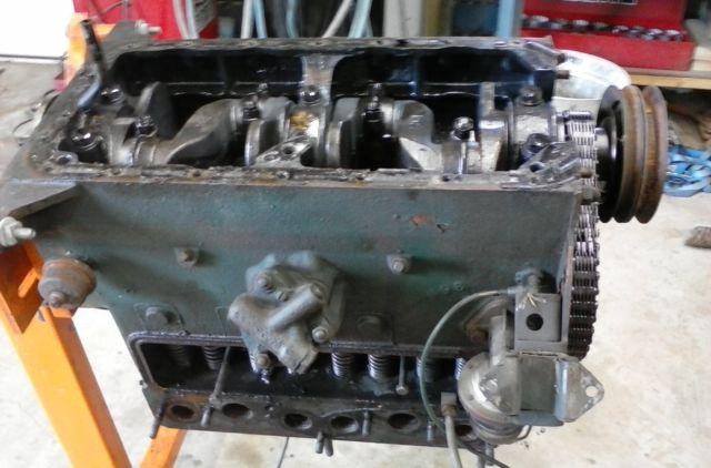 1946 Willys CJ2A engine - YouTube |Jeep Cj2a Engines
