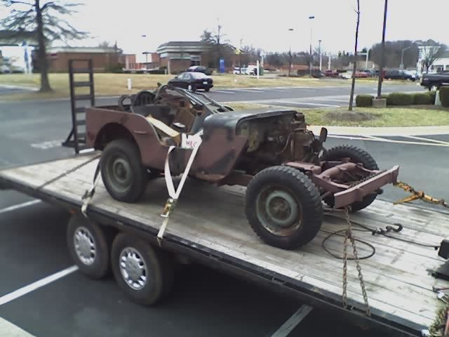 Willys MB Jeep • 1942 Basket Case Project for sale: photos ...