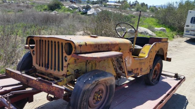 1942 Willys CJ2A
