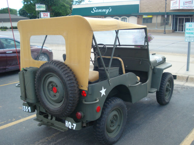 1946 Willys CJ-2