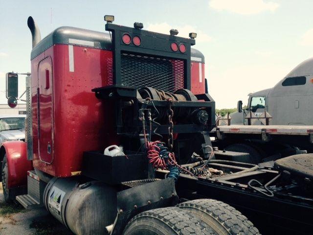 Winch Truck, Peterbilt 379, Wet kit, Tail Roller, 379 for sale