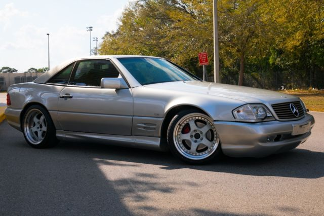 Work Wheels Low Miles Sl73 Amg Facelift Hard Top Included For